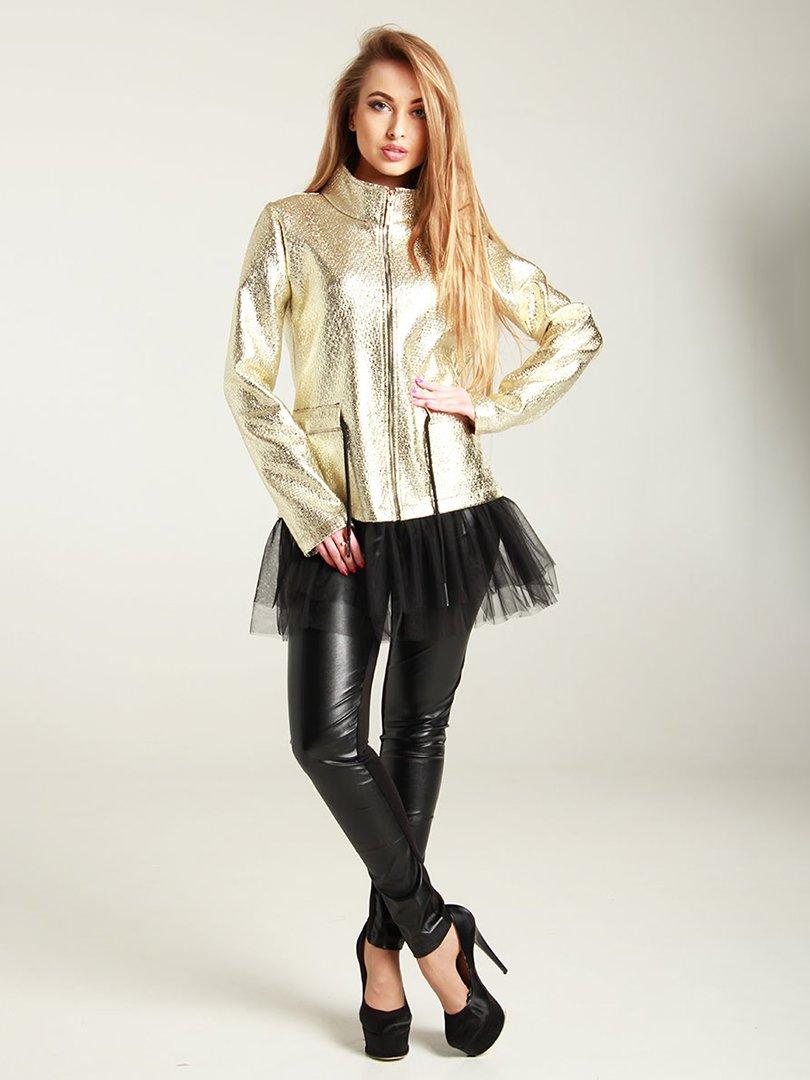 Куртка золотистая | 4250851