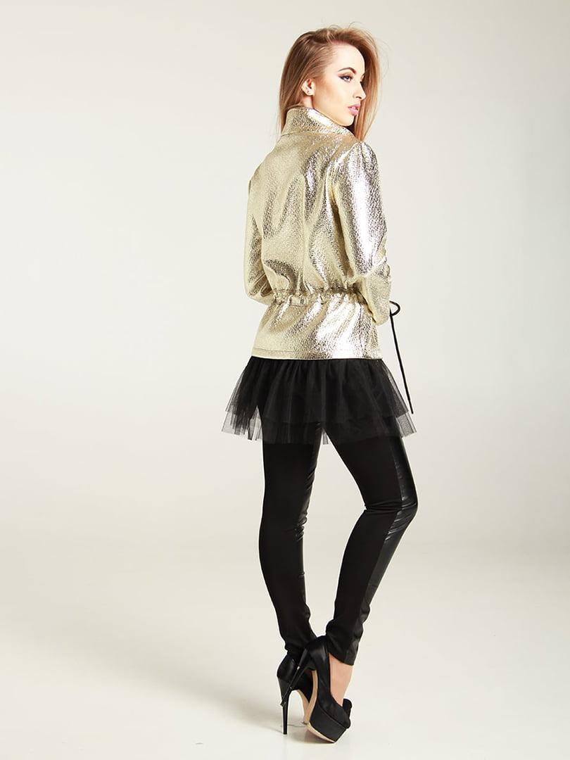 Куртка золотистая | 4250851 | фото 2