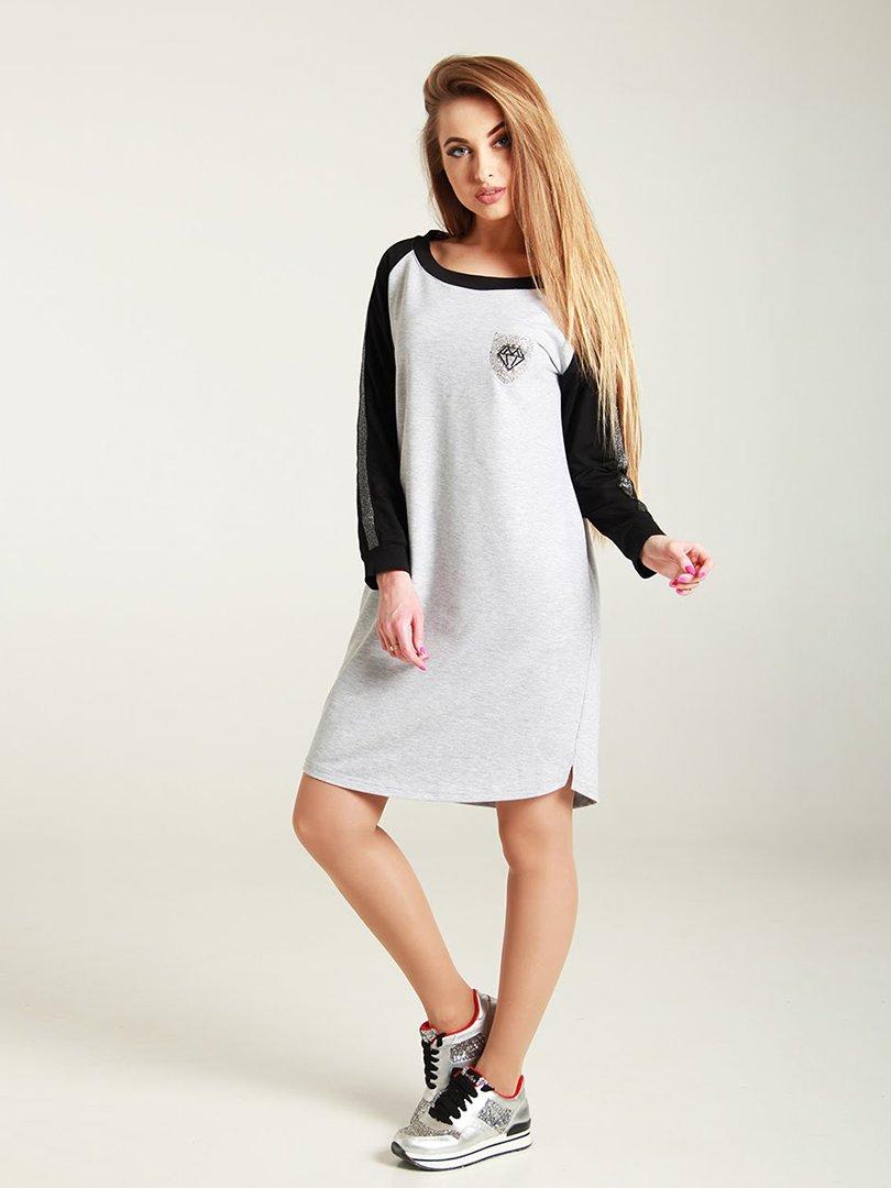 Сукня двоколірна | 4250853