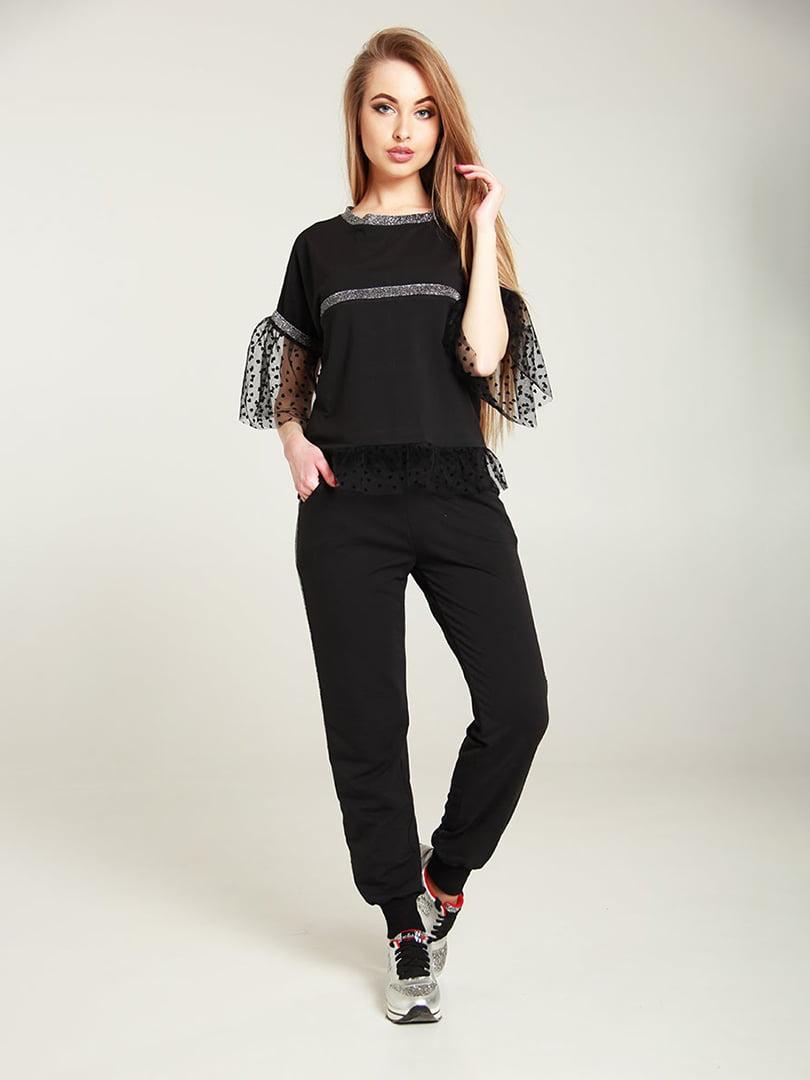 Костюм: футболка и брюки | 4250855 | фото 5