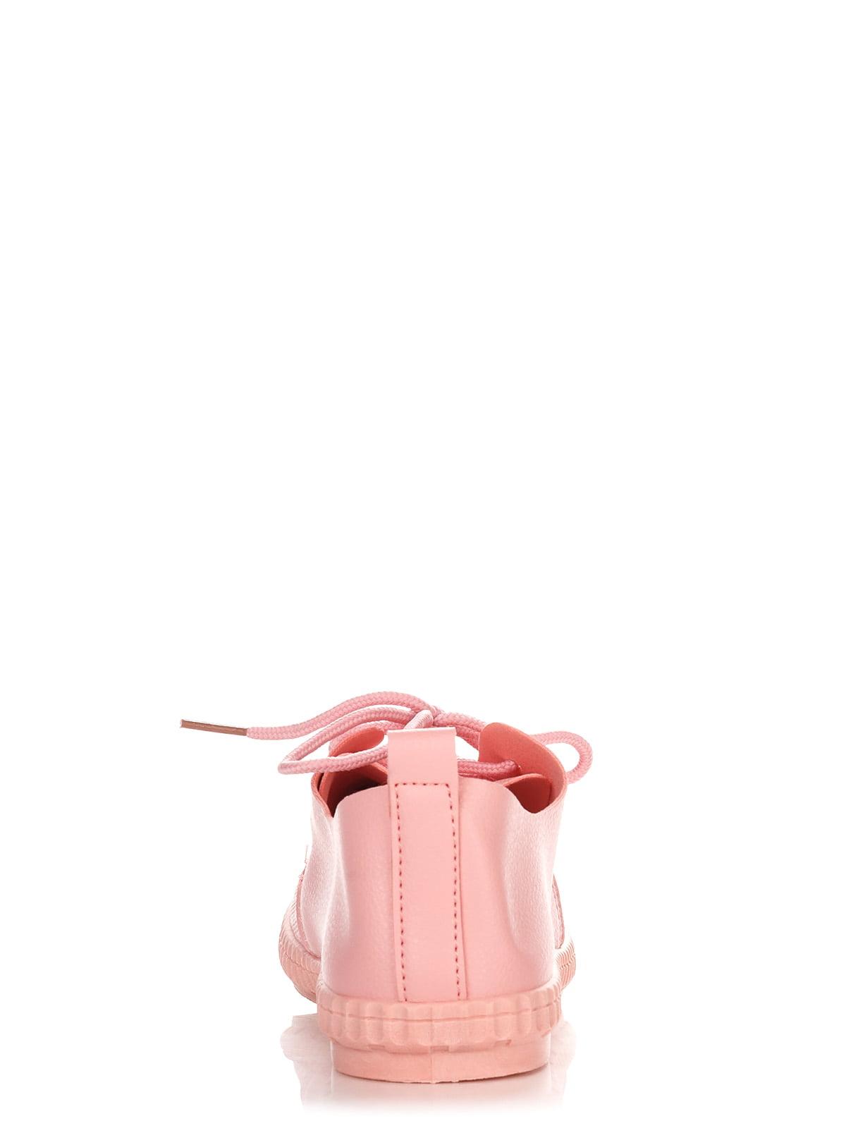 Кеды розовые | 4244421 | фото 3