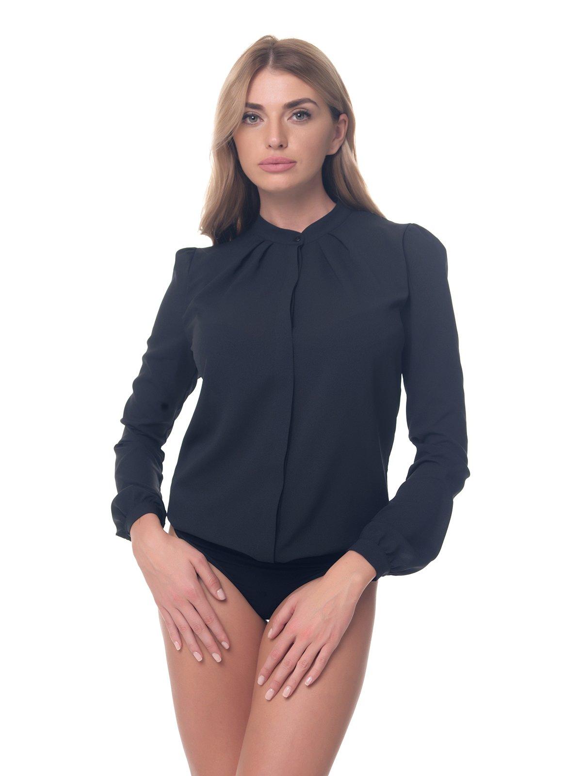 Блуза-боді чорна | 4261137