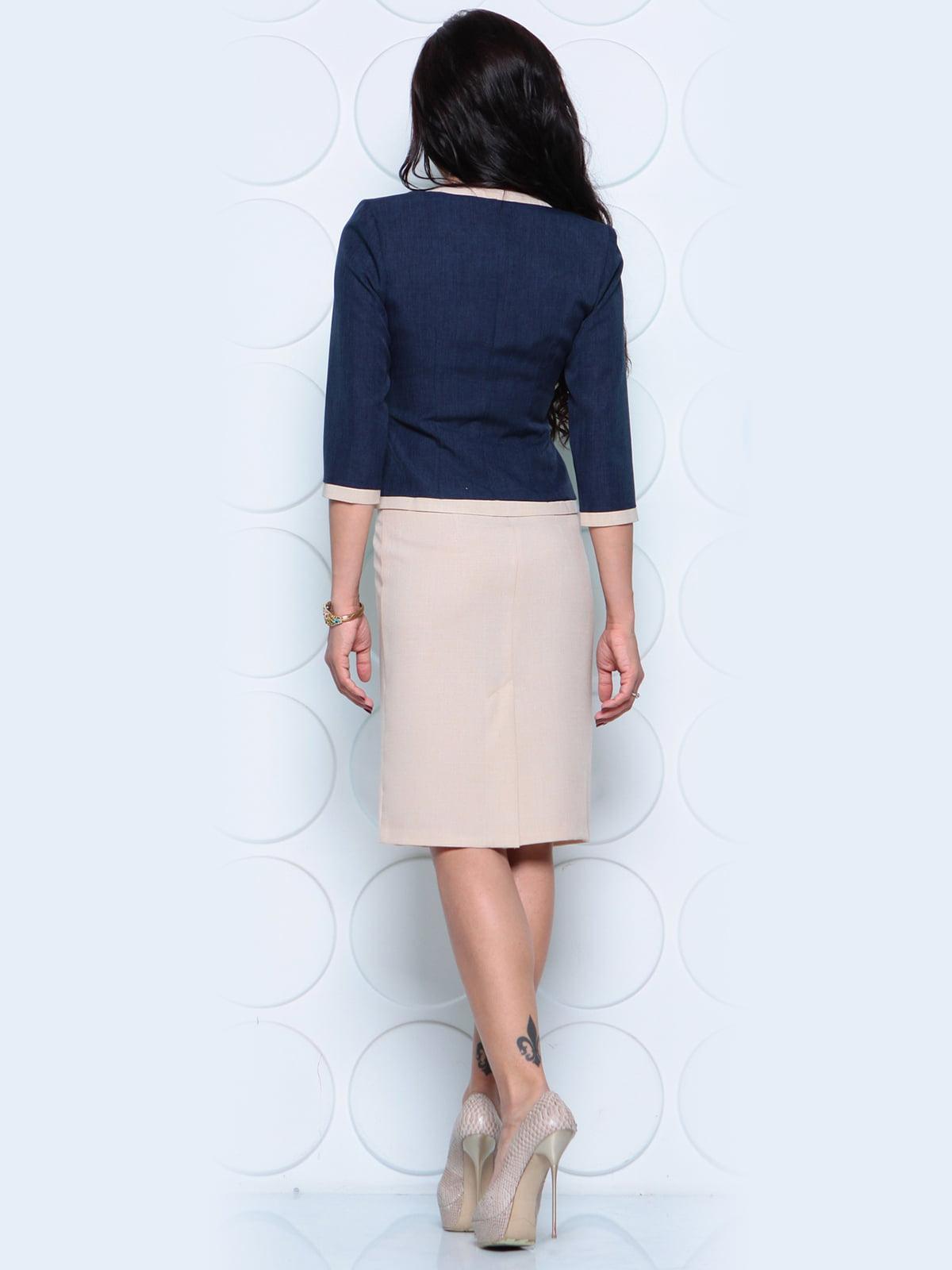 Комплект: жакет и платье | 4261212 | фото 2