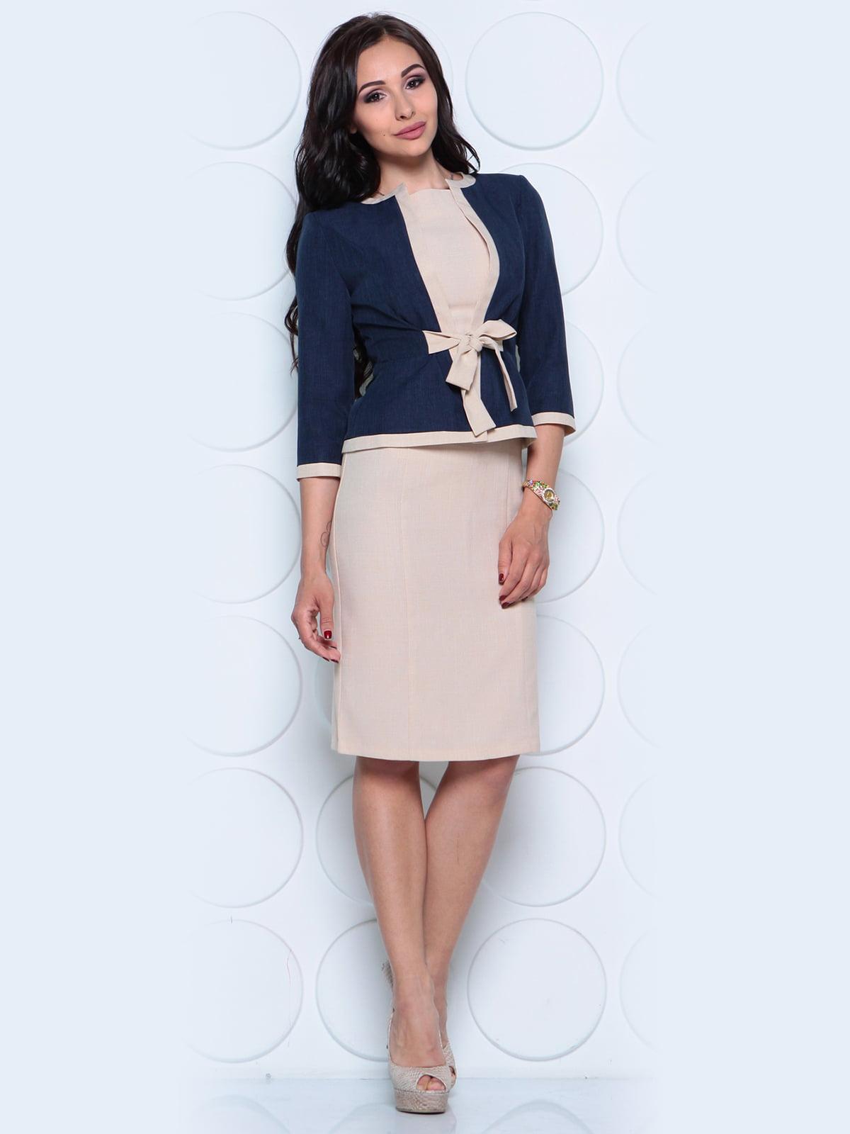 Комплект: жакет и платье | 4261212 | фото 3