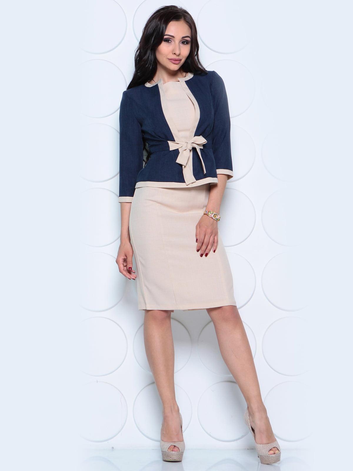 Комплект: жакет и платье | 4261212 | фото 4