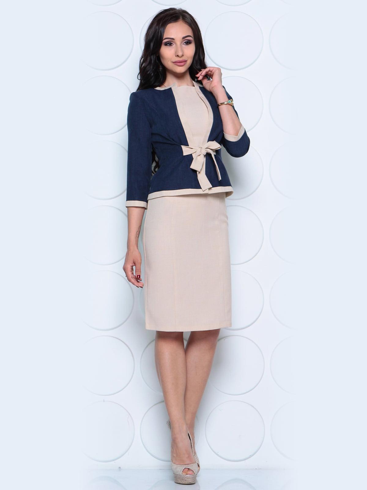 Комплект: жакет и платье | 4261212 | фото 6