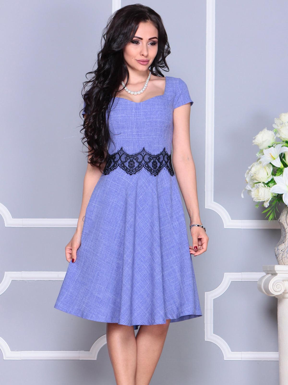 Платье фиолетовое | 4261218
