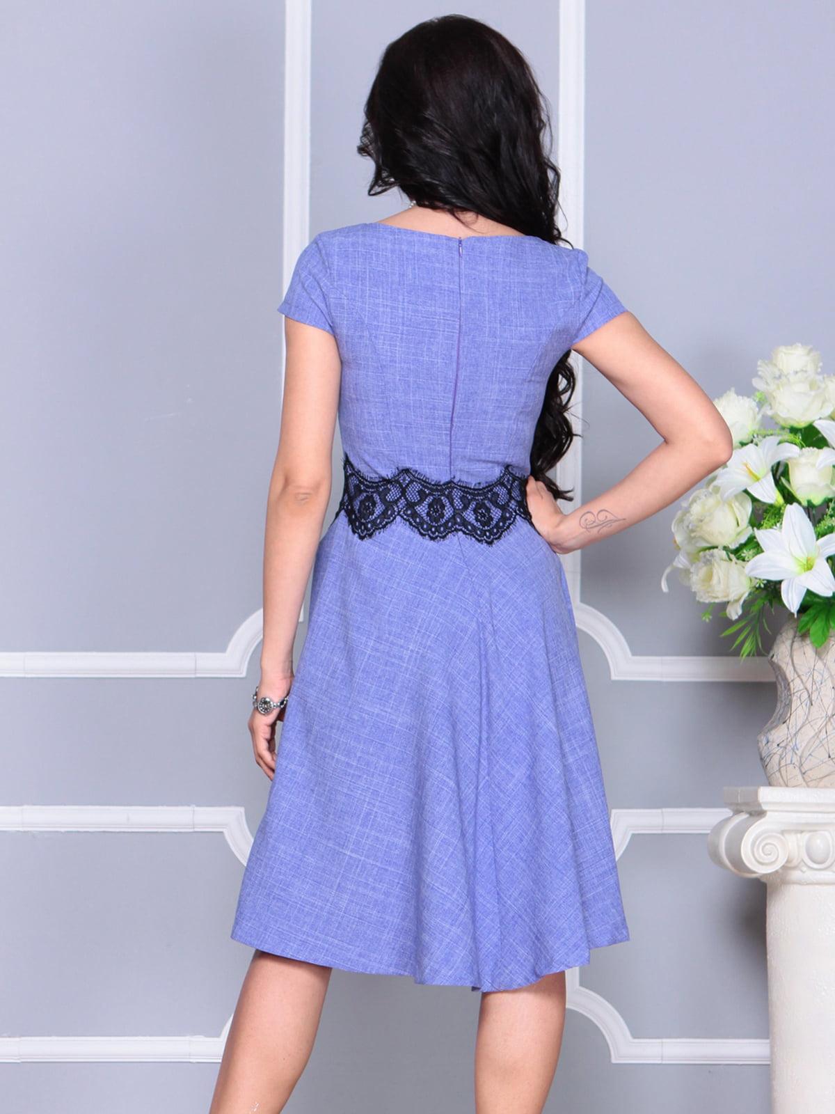 Платье фиолетовое | 4261218 | фото 2