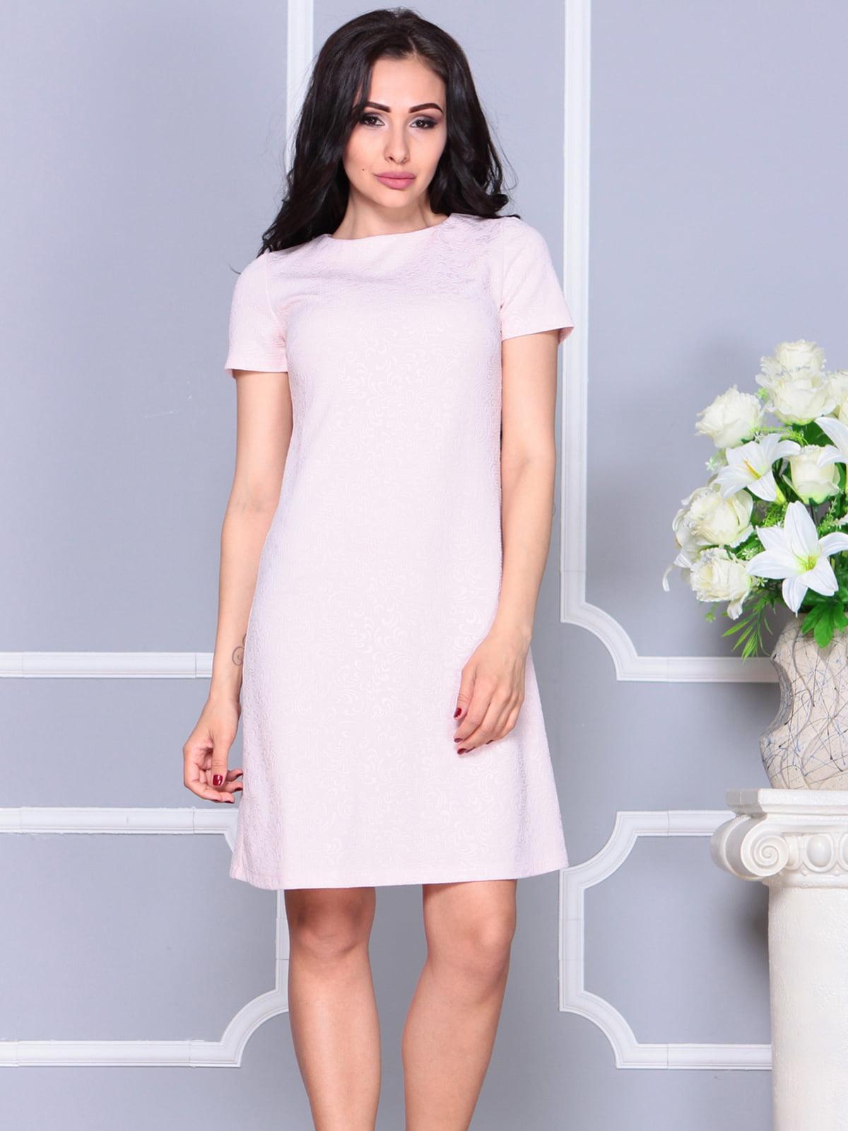 Платье бежевое   4261231   фото 3