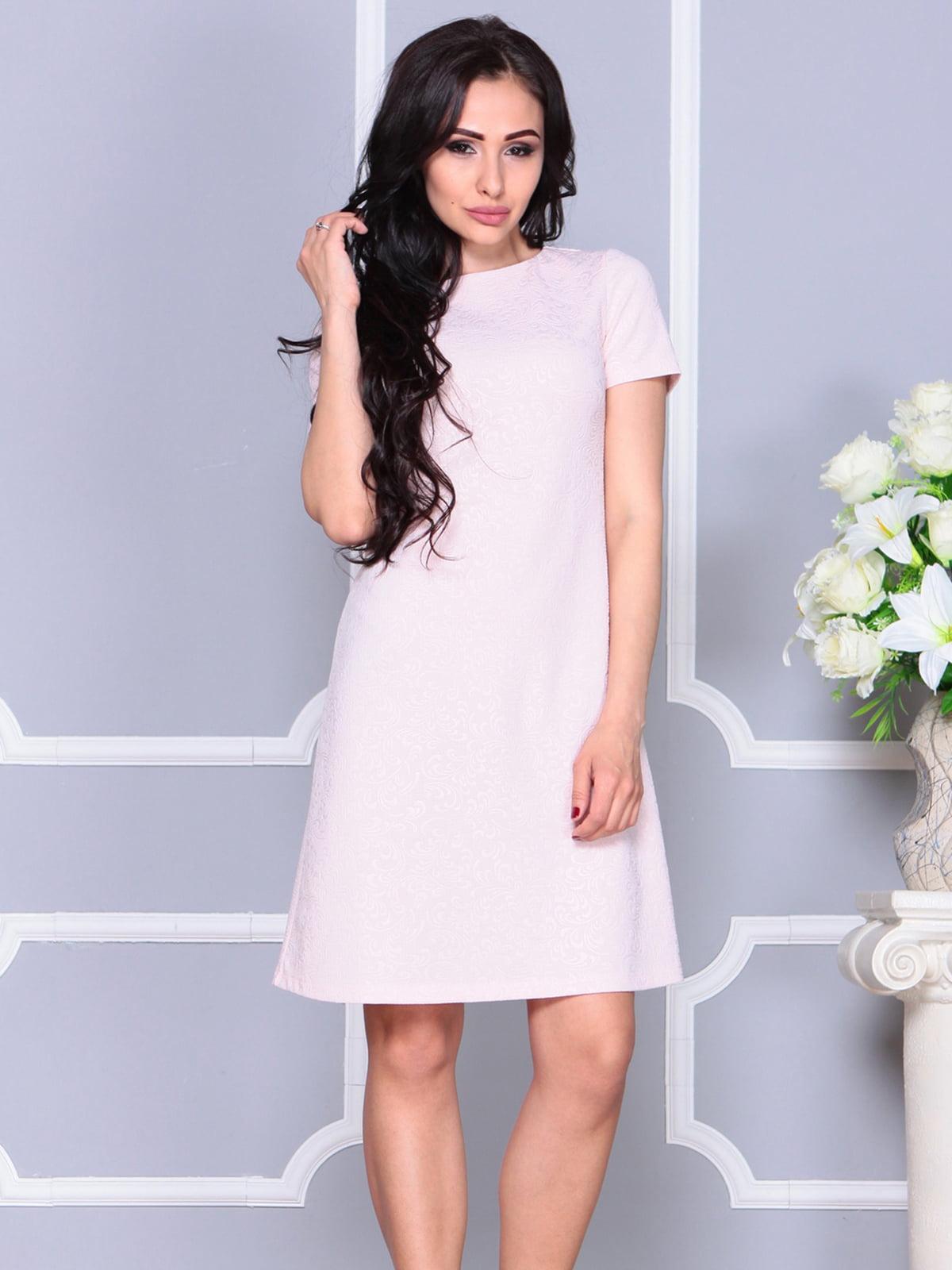 Платье бежевое   4261231   фото 4