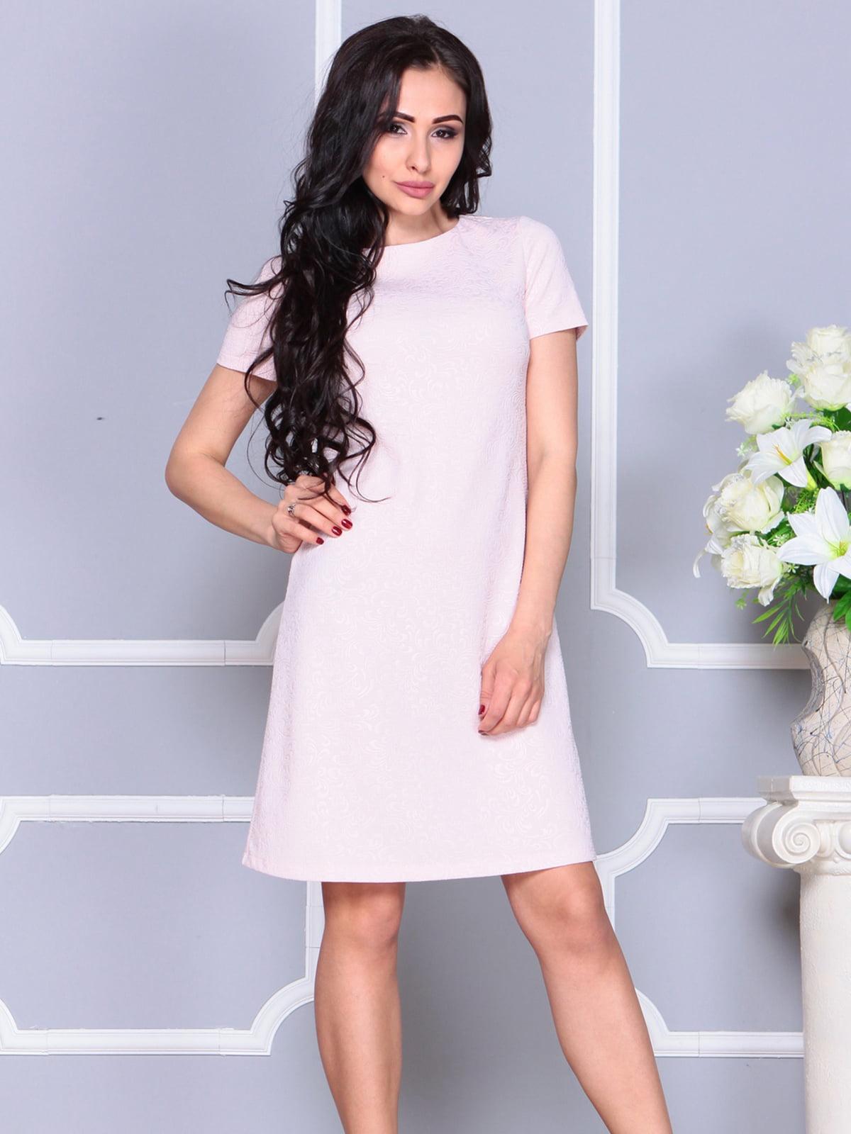 Платье бежевое   4261231   фото 5