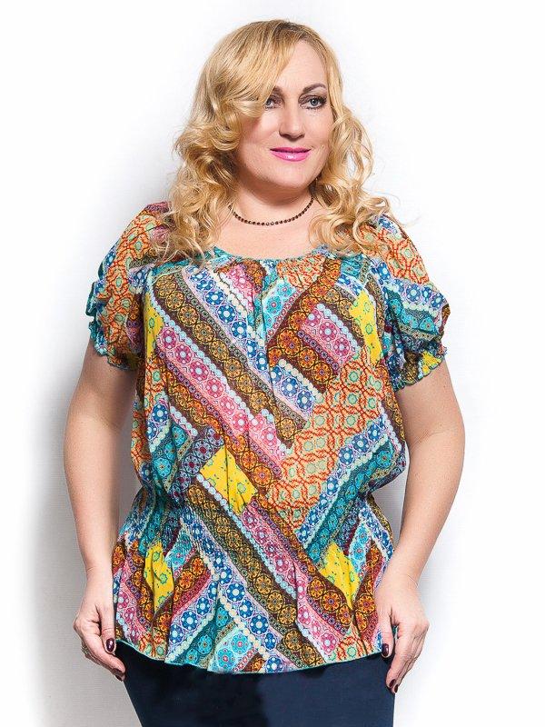 Блуза разноцветная | 4261710