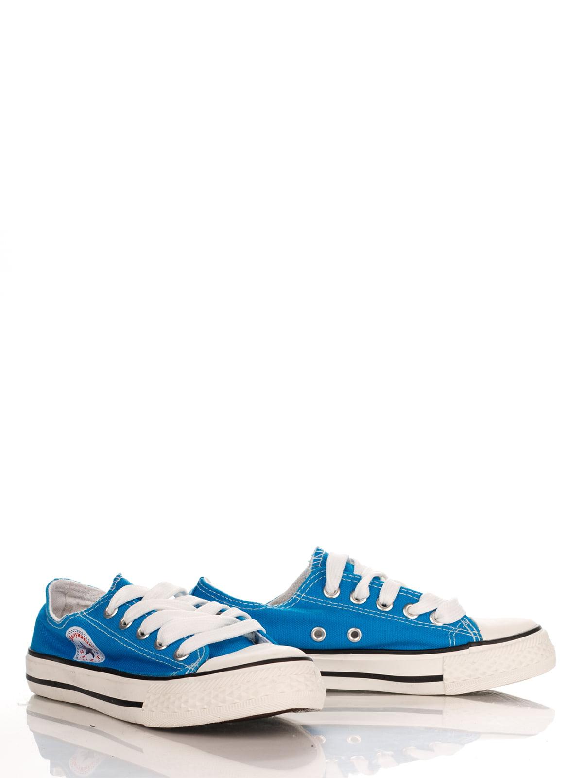Кеды голубые | 3902648