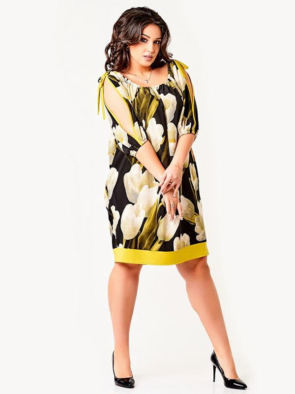 Платье в принт | 4220245
