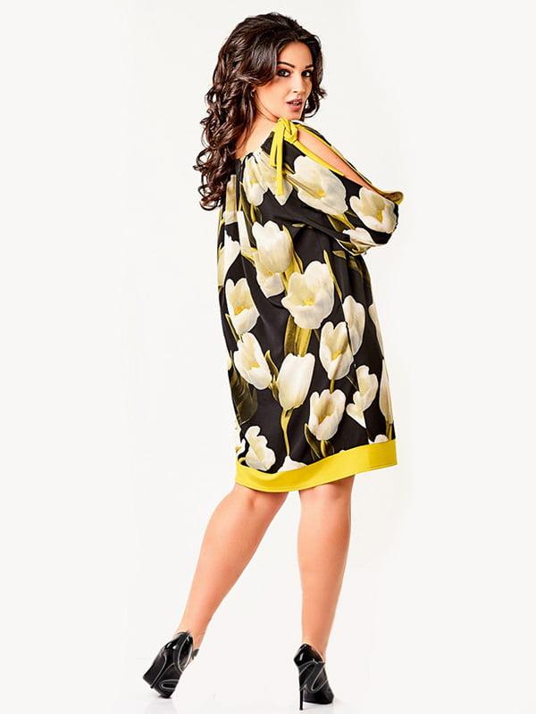Платье в принт | 4220245 | фото 2