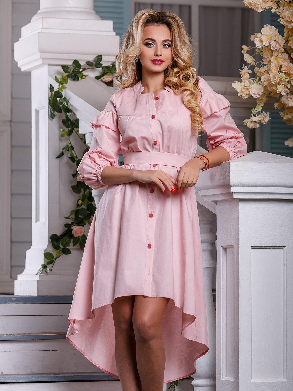 Платье светло-розовое | 4263009