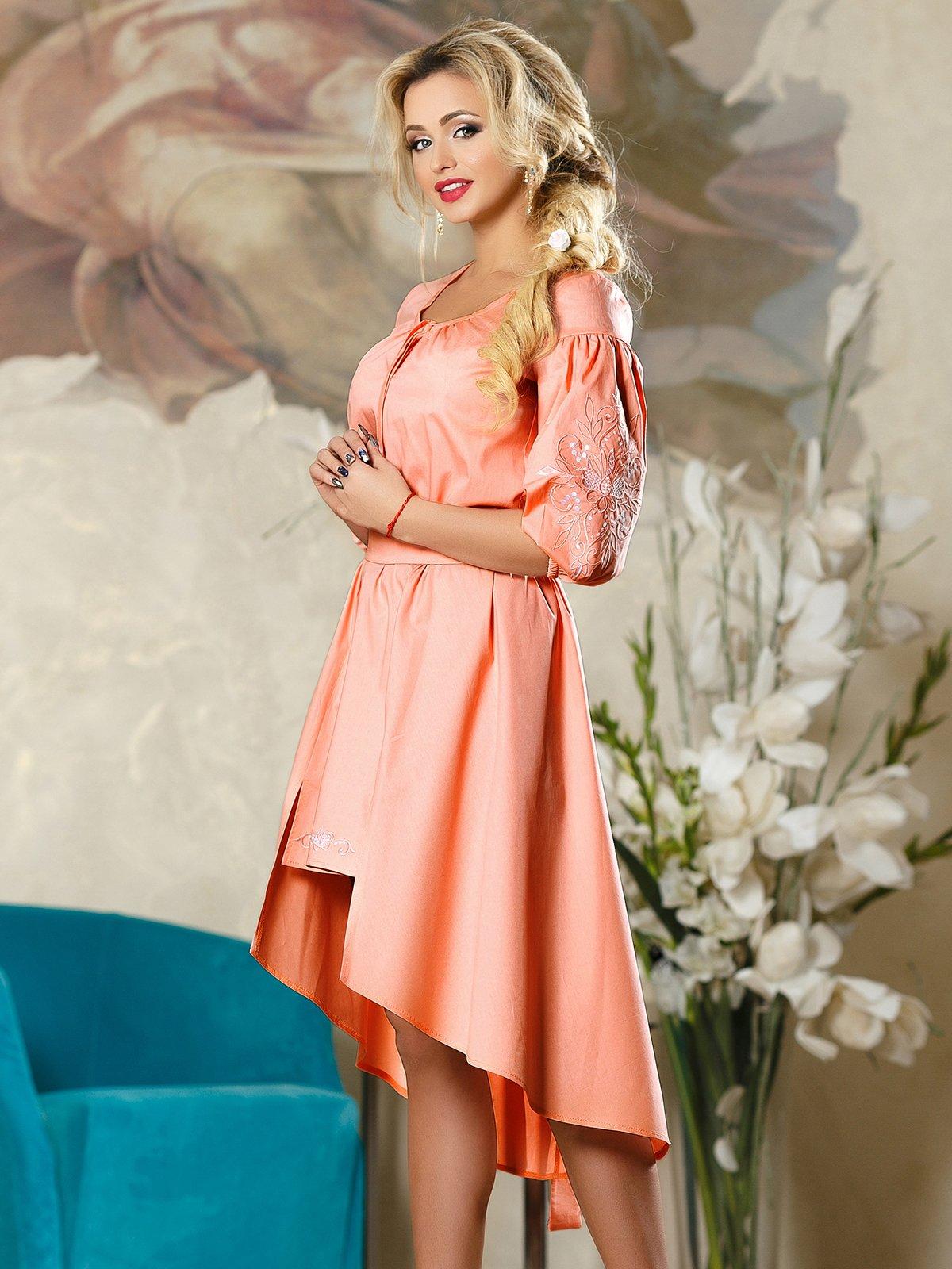 Платье бежевое | 4263072