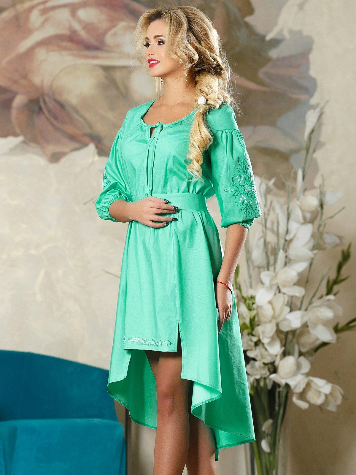 Сукня бірюзова | 4263075