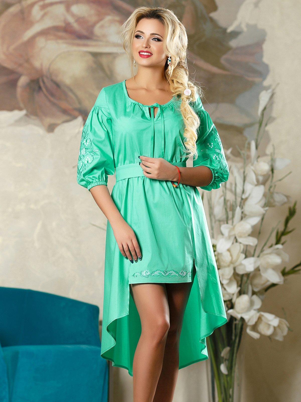 Сукня бірюзова | 4263075 | фото 2