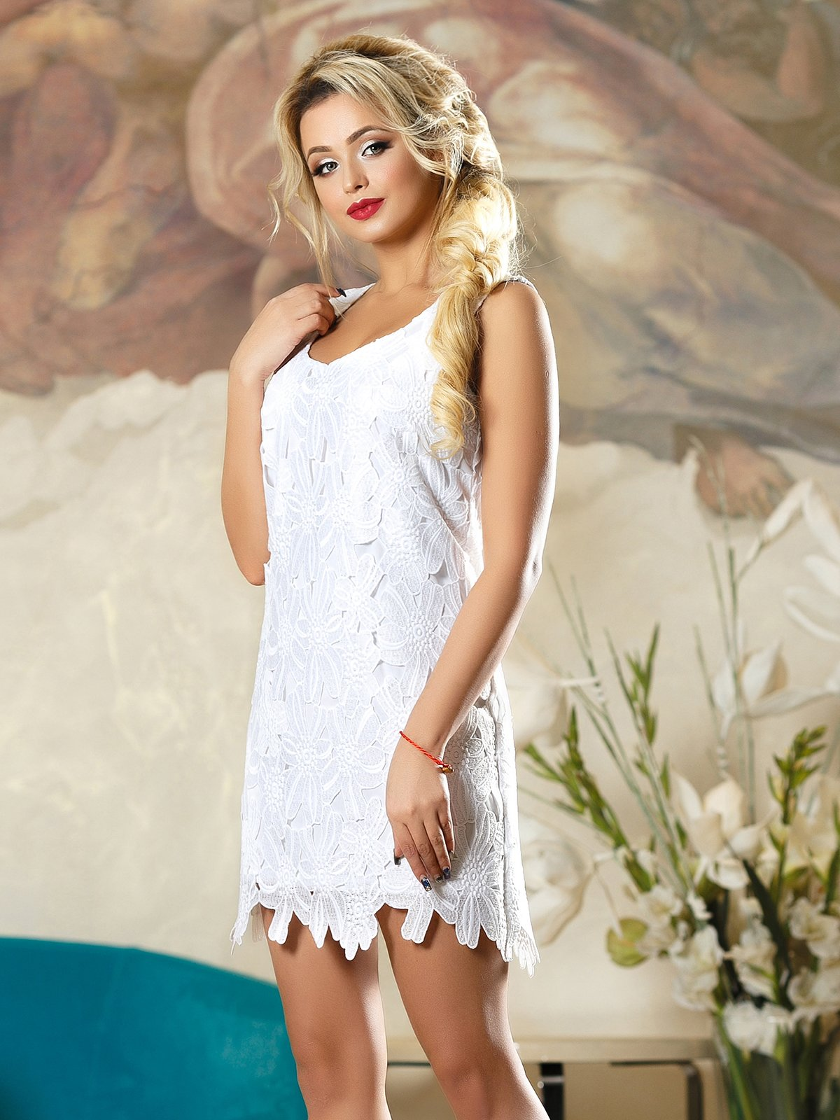 Платье белое   4263085
