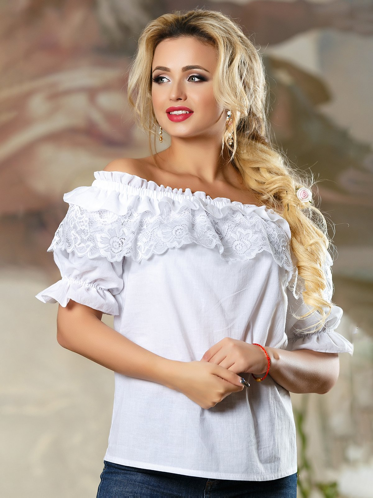 Блуза біла | 4263094 | фото 2