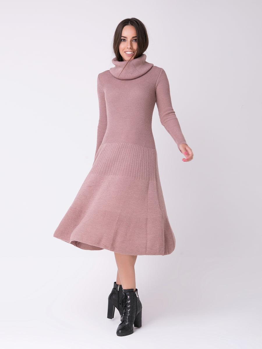 Сукня фрезового кольору   4263681