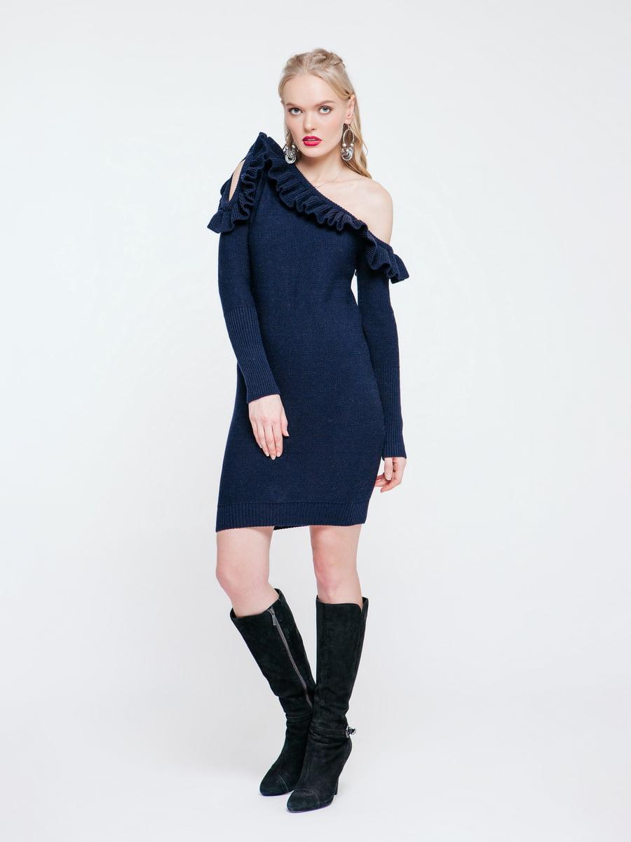 Платье темно-синее | 4263710
