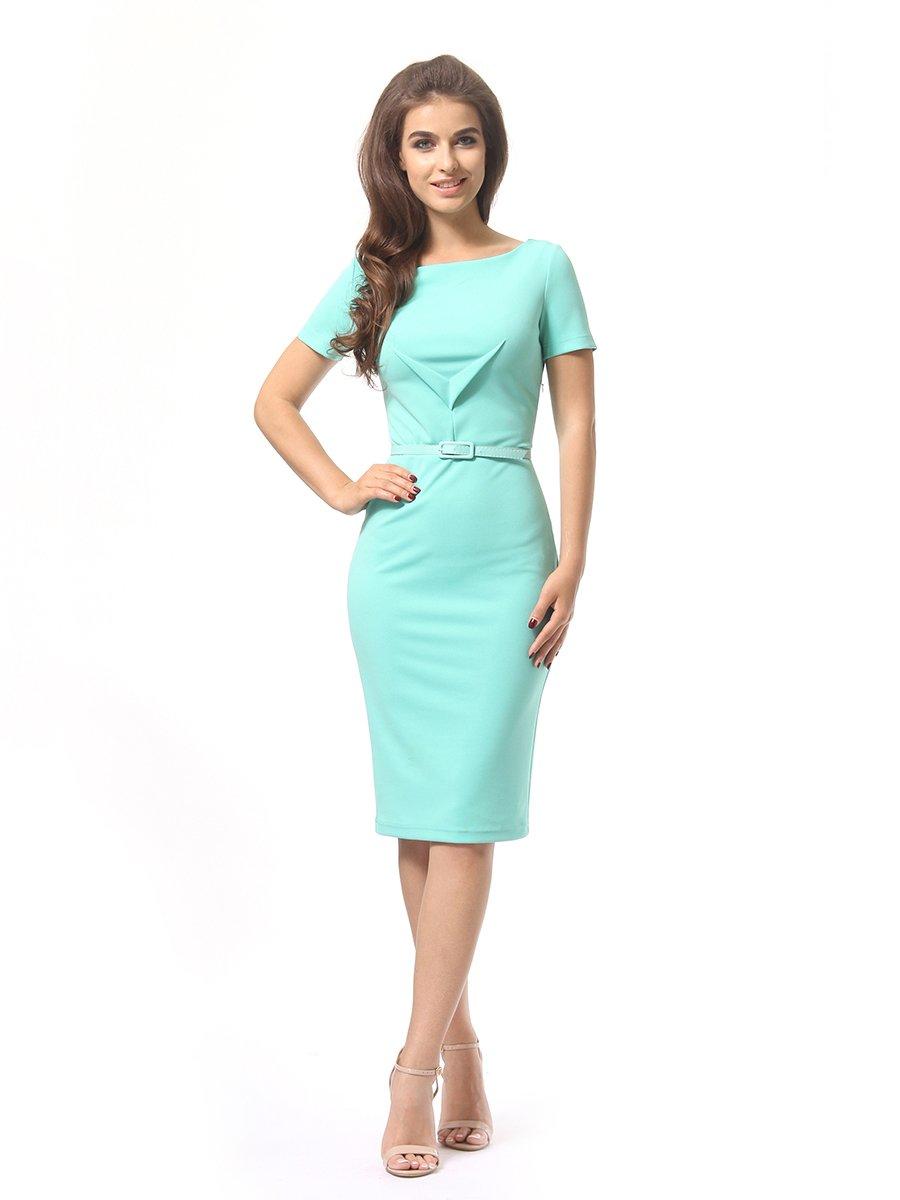 Платье мятного цвета | 4249853