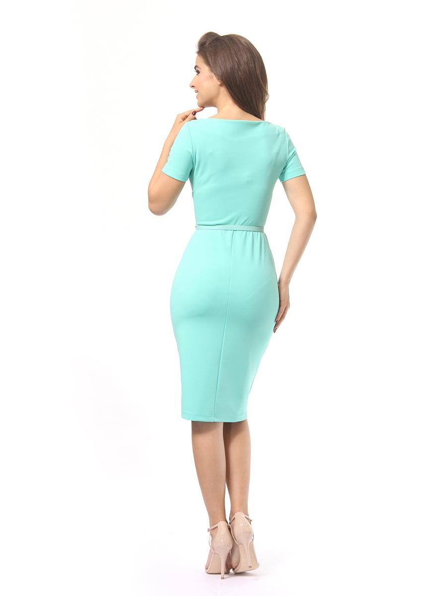 Платье мятного цвета | 4249853 | фото 4