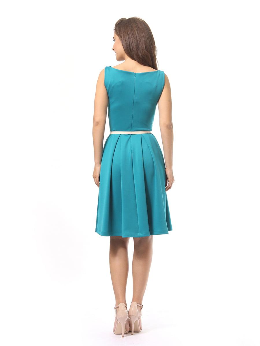 Платье бирюзовое | 4249859 | фото 4