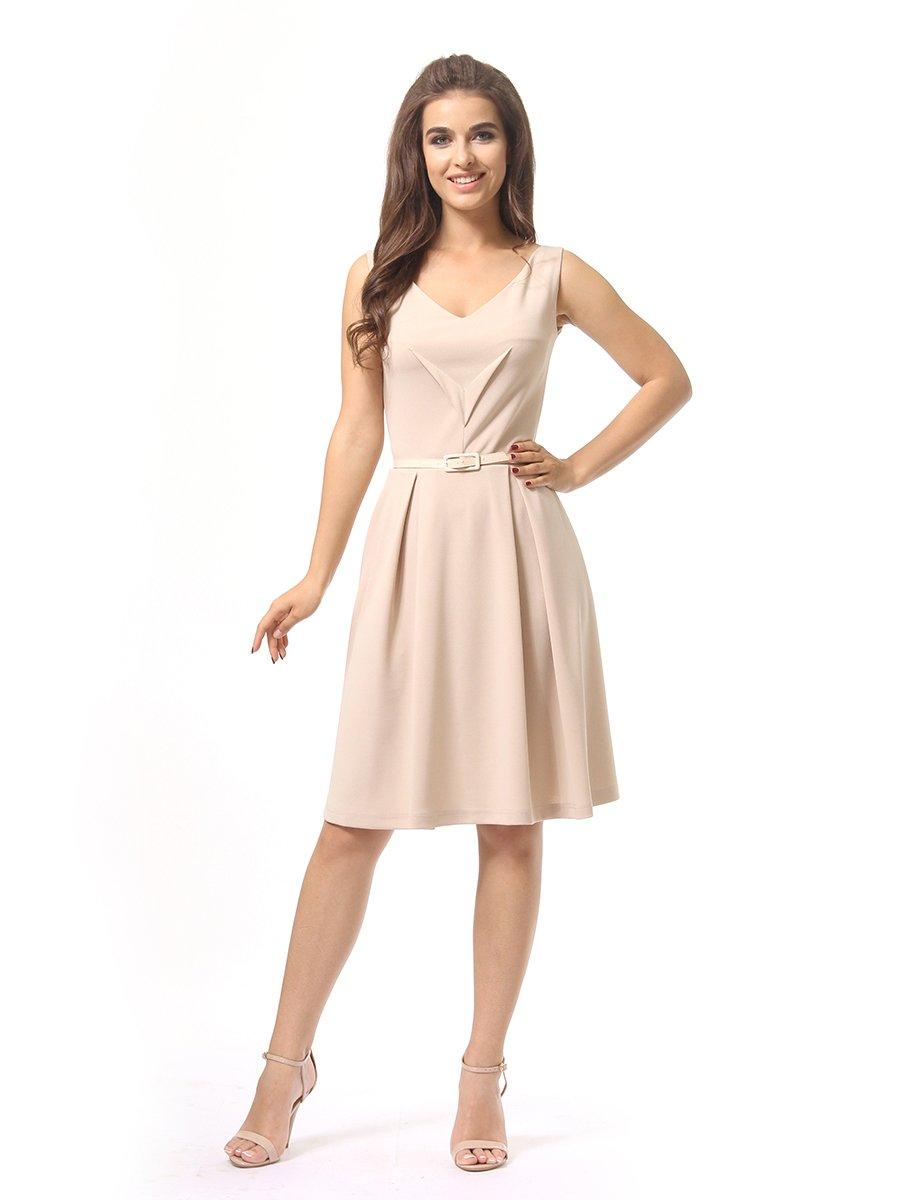 Платье бежевое | 4249862