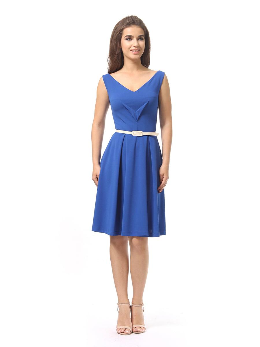 Платье синее   4249863   фото 2
