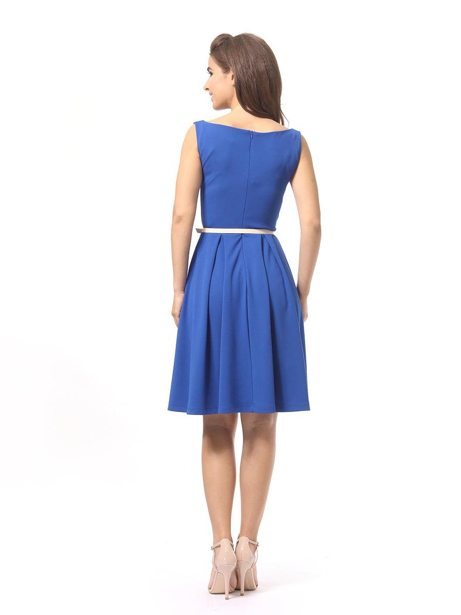 Платье синее   4249863   фото 3