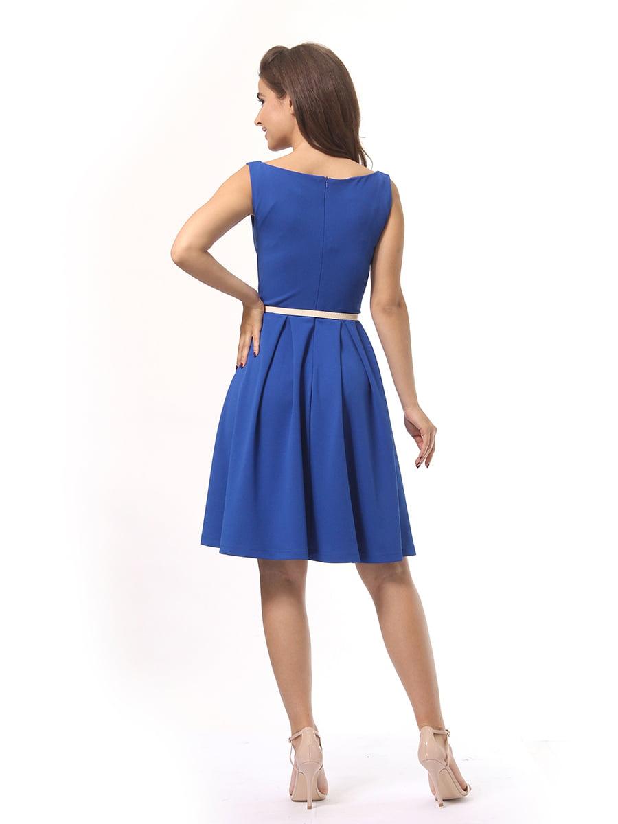 Платье синее   4249863   фото 4