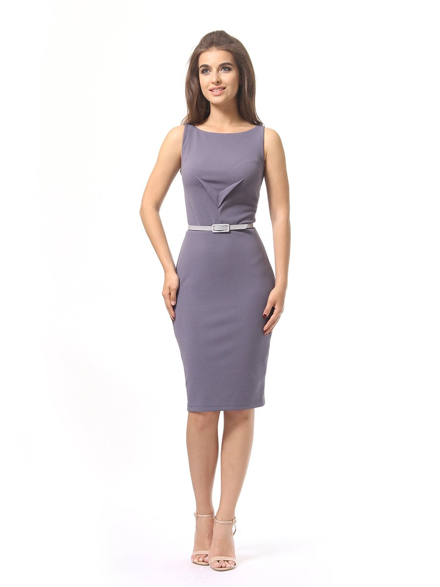 Платье серое | 4249864