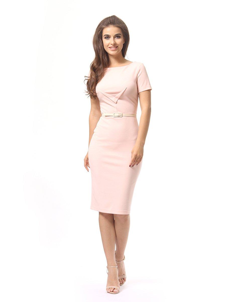 Платье цвета пудры | 4249866