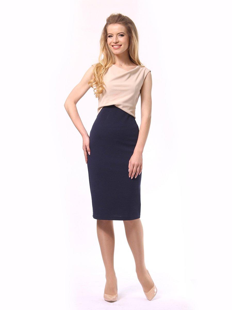 Платье двухцветное | 4249872
