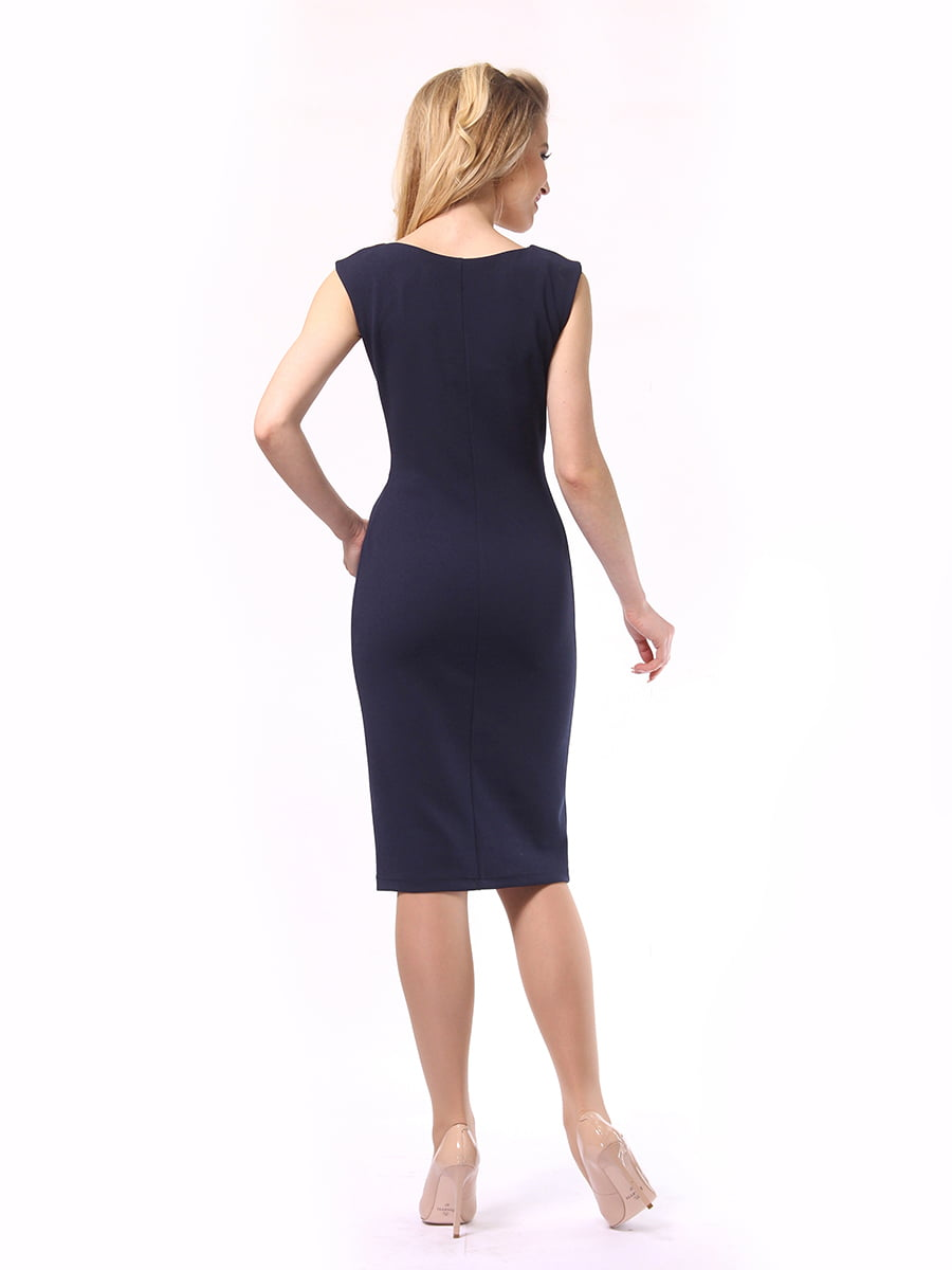Платье двухцветное | 4249872 | фото 5