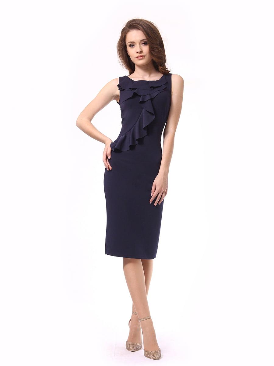 Платье темно-синее | 4249907 | фото 3
