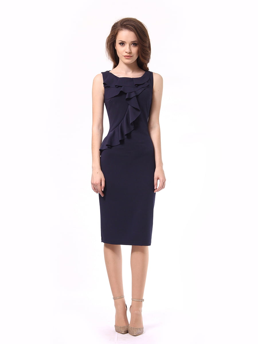 Платье темно-синее | 4249907 | фото 5