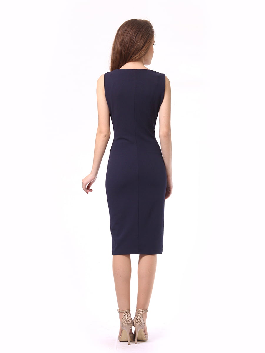 Платье темно-синее | 4249907 | фото 6