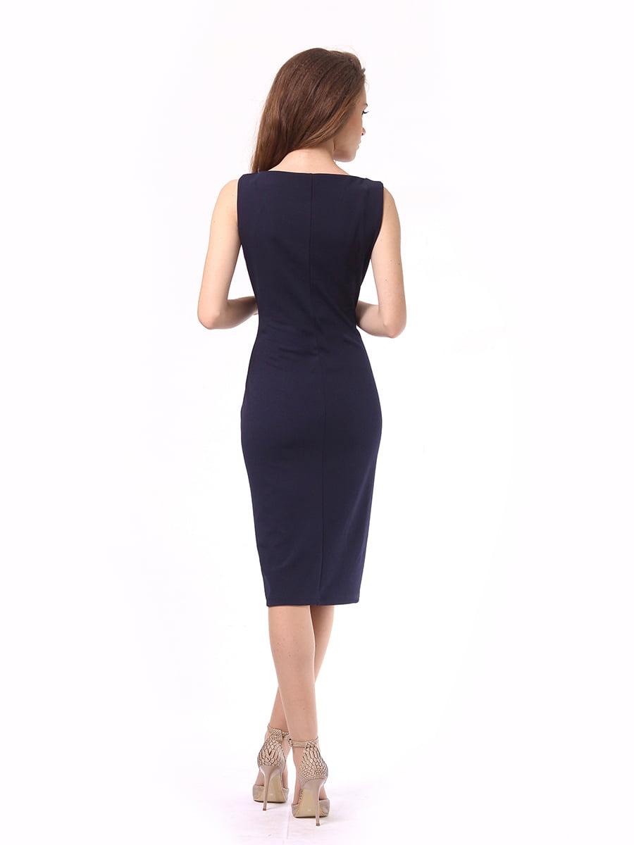 Платье темно-синее | 4249907 | фото 7