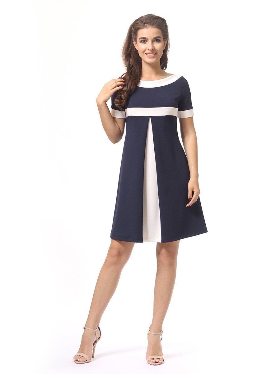 Платье темно-синее | 4264925