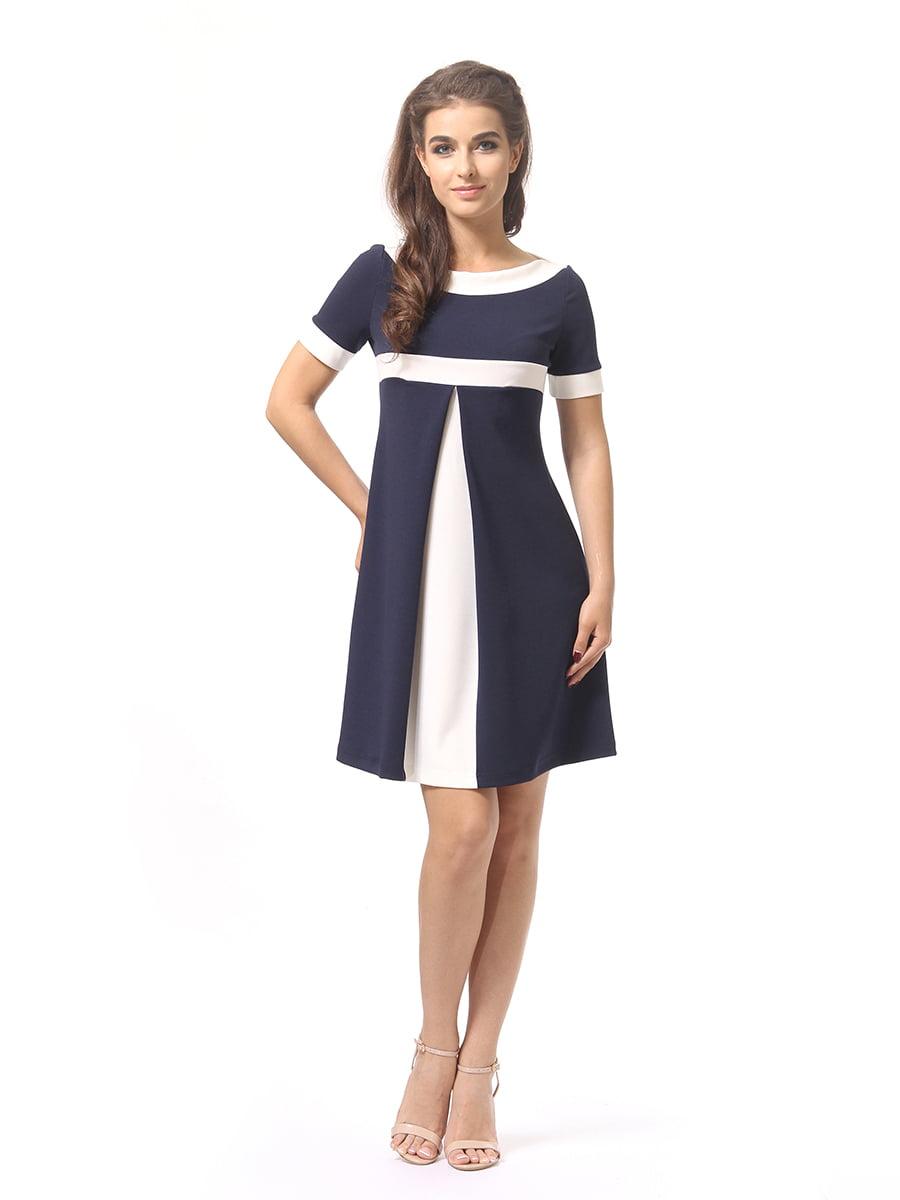 Платье темно-синее | 4264925 | фото 2