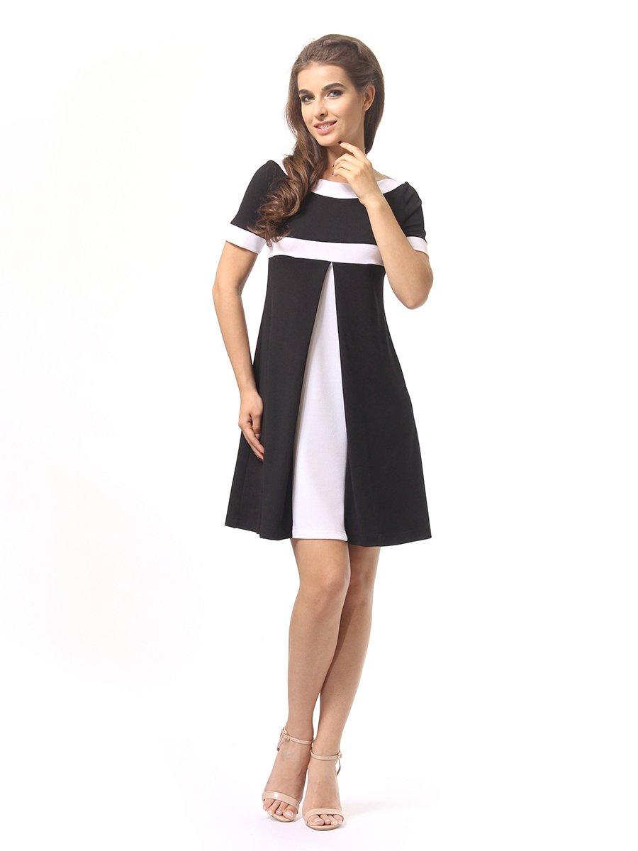 Платье черно-белое | 4264926