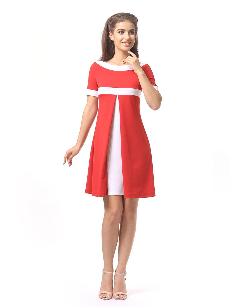 Платье красное | 4264930 | фото 2