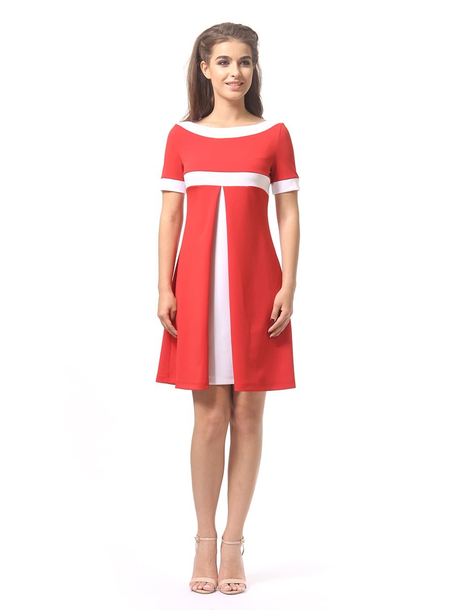 Платье красное | 4264930 | фото 3