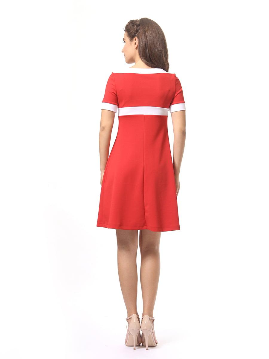 Платье красное | 4264930 | фото 4