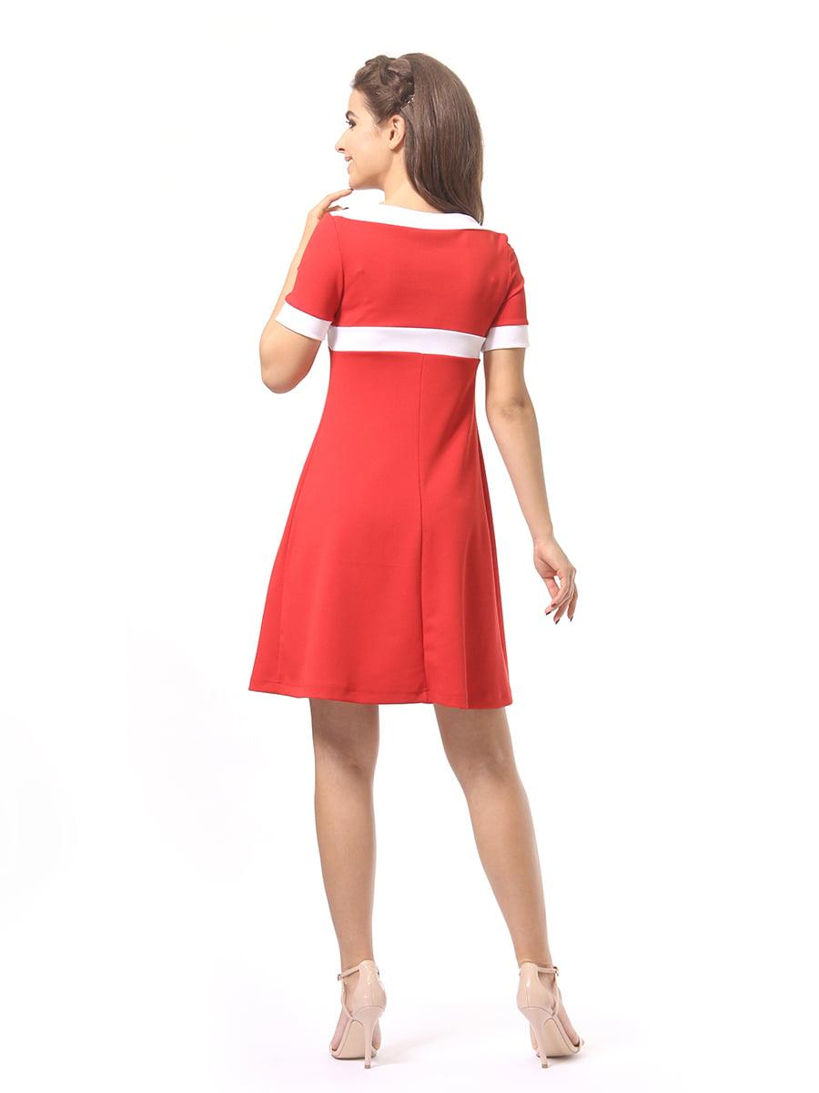 Платье красное | 4264930 | фото 5
