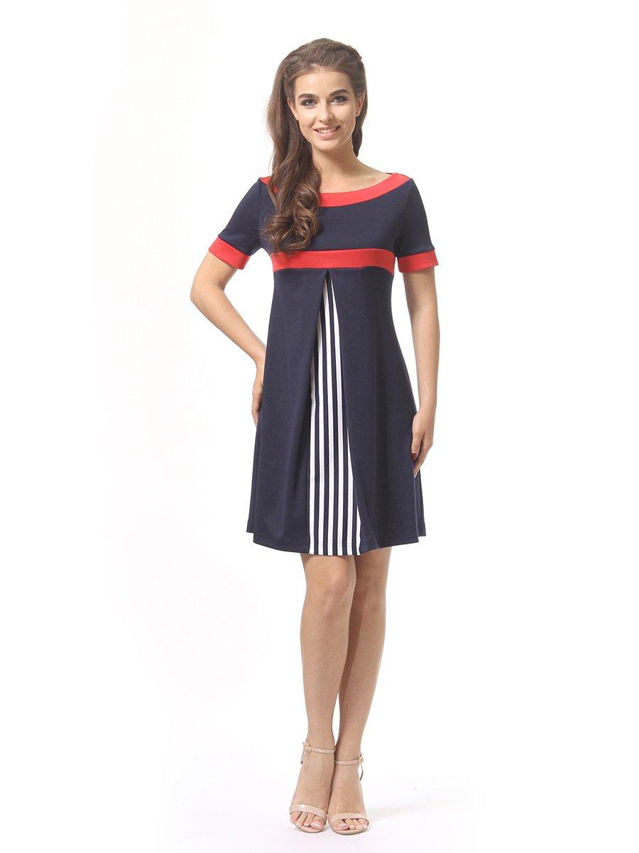 Платье темно-синее | 4264933